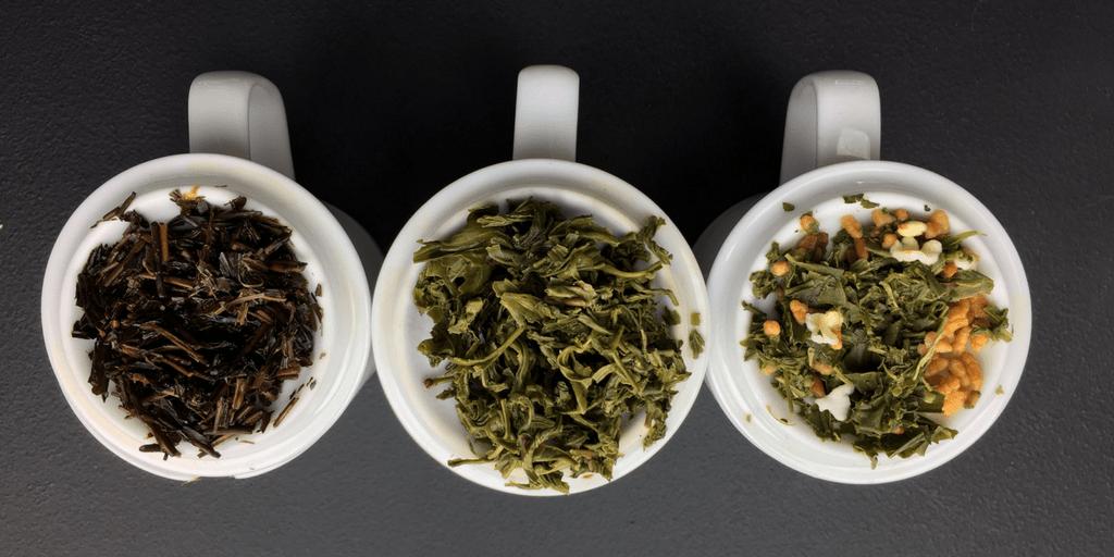 انواع چای شمال