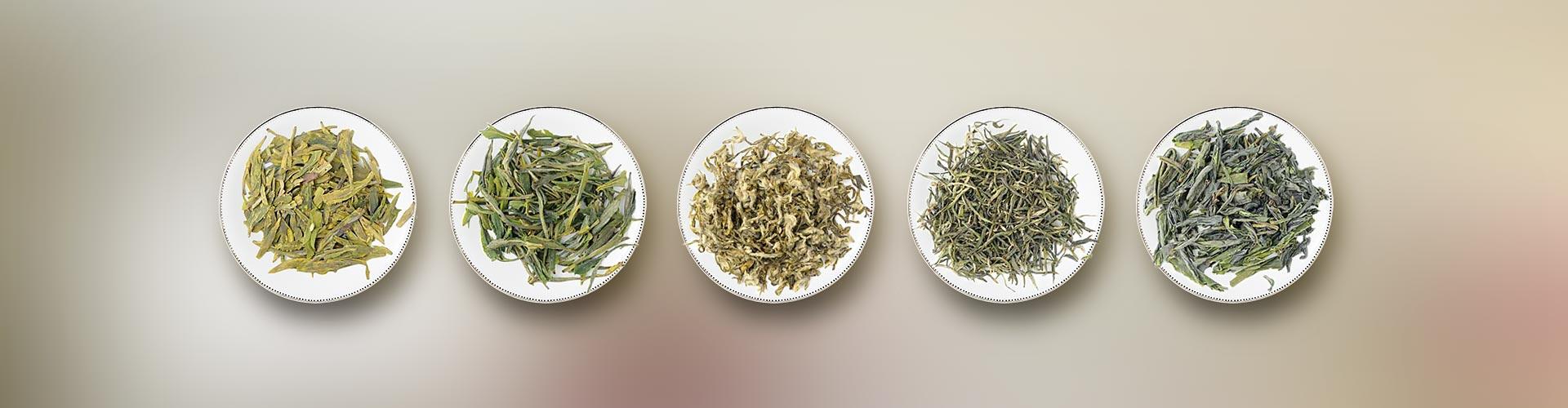 انواع چای سبز لاهیجان