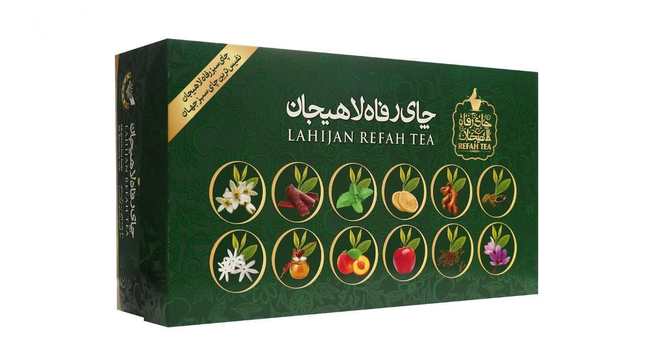 چای کیسه ای سبز رفاه