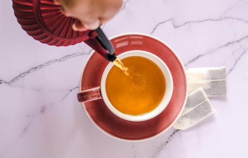 فروش چای کیسه ای طعم دار