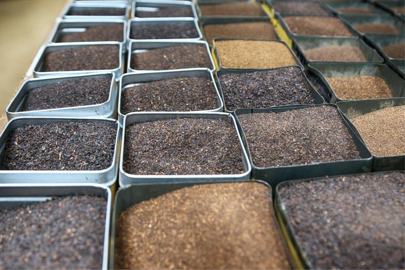 انواع چای سیاه فله