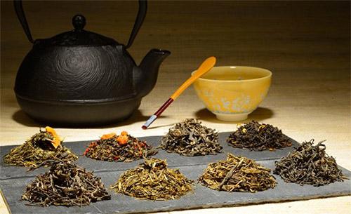 فروش چای در بازار